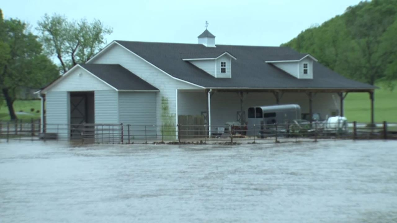 Grove Residents See Flooding Like Never Before