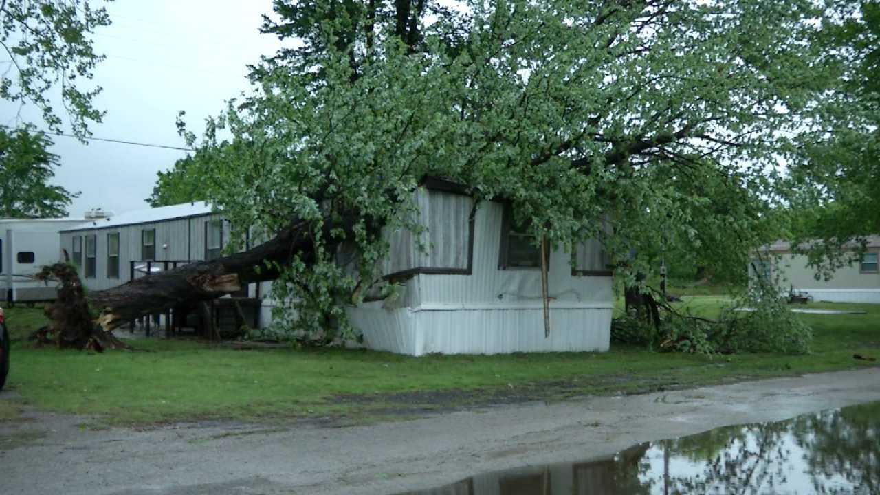 Severe Storms Cause Damage To Pawnee County Homes