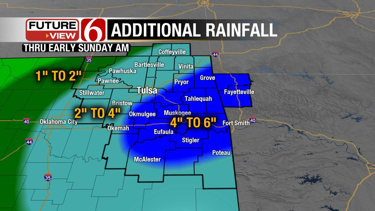 Significant Flooding Expected Across Eastern Oklahoma