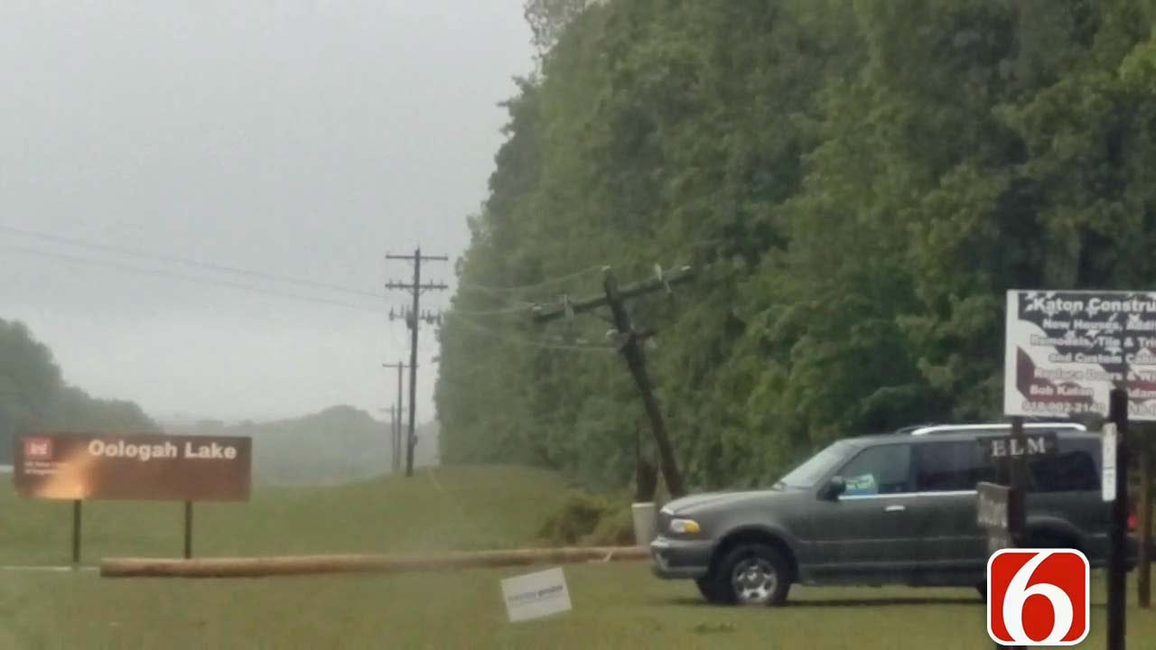 Storms Knock Out Power To Tacora Hills East Of Oologah Dam