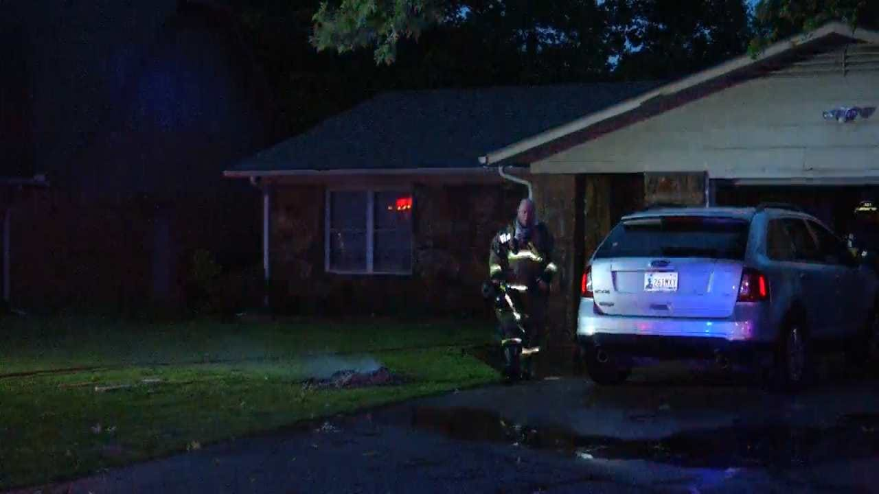 Strong Winds Cause Skiatook House Fire, Other Damage