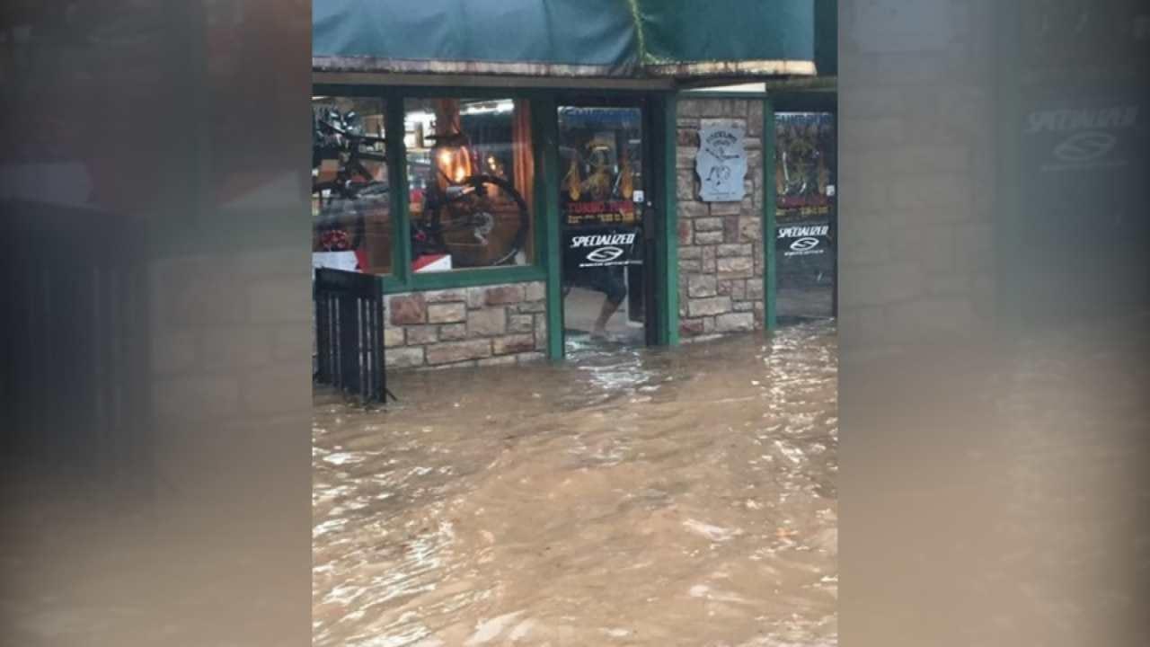Tahlequah Residents Dealing With Major Flood Damage