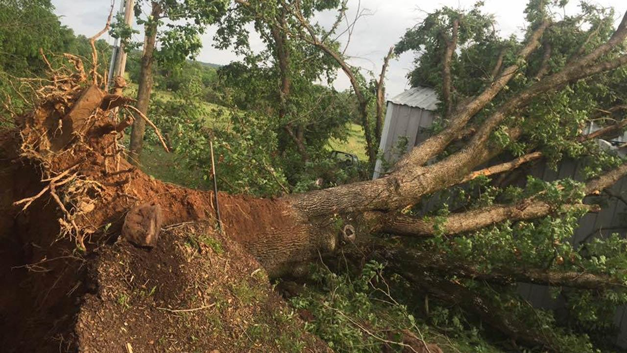 Tornado Touches Down In LeFlore County
