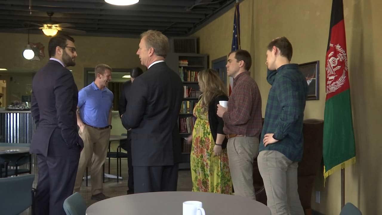 Afghanistan Ambassador Gives Thanks To Oklahoma Veterans