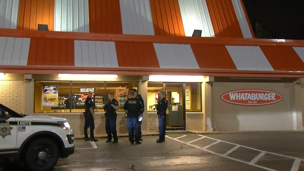 Armed Man Robs Tulsa Whataburger