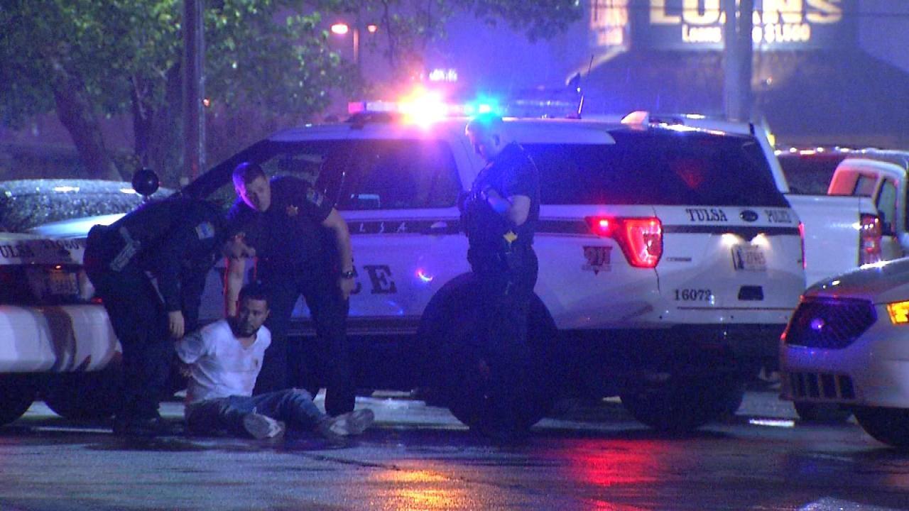 Man Arrested Outside Tulsa Club Rio