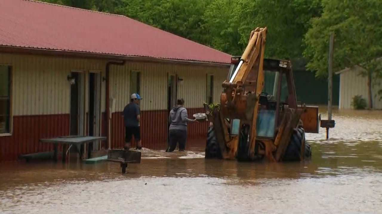 Cherokee County Residents Brace For Near-Record Level Flooding