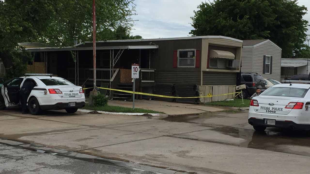 Tulsa Police Investigate Murder At Trailer Park