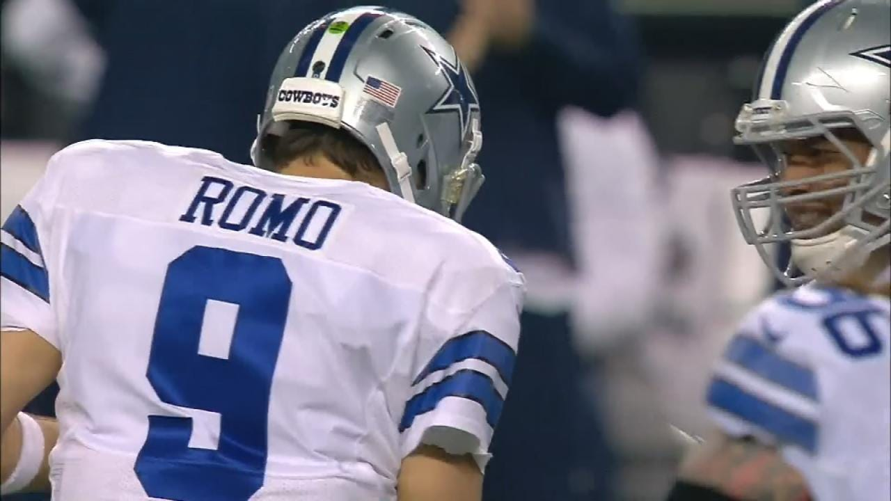 Cowboy's Tony Romo Reportedly To Retire, Go Into Broadcasting