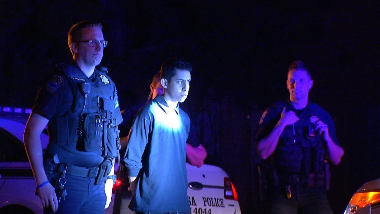 Police: Tulsa Teen Steals Man's Pickup At Gunpoint