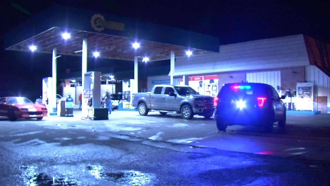 Customers Help Sperry Police Catch Armed Robbery Suspect