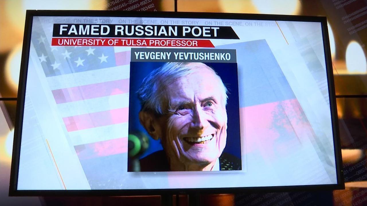 Memorial Service Held For Russian Poet, TU Professor Yevgeny Yevtushenko