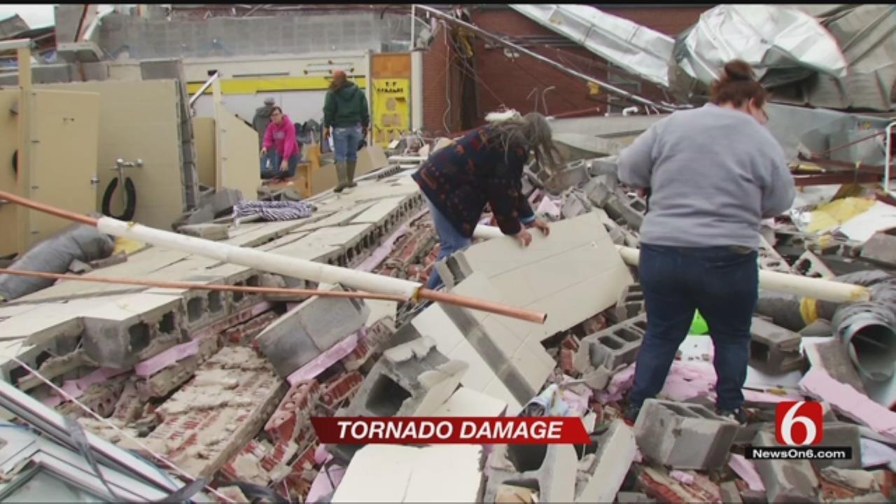 Missouri Elementary School Destroyed In EF2 Tornado