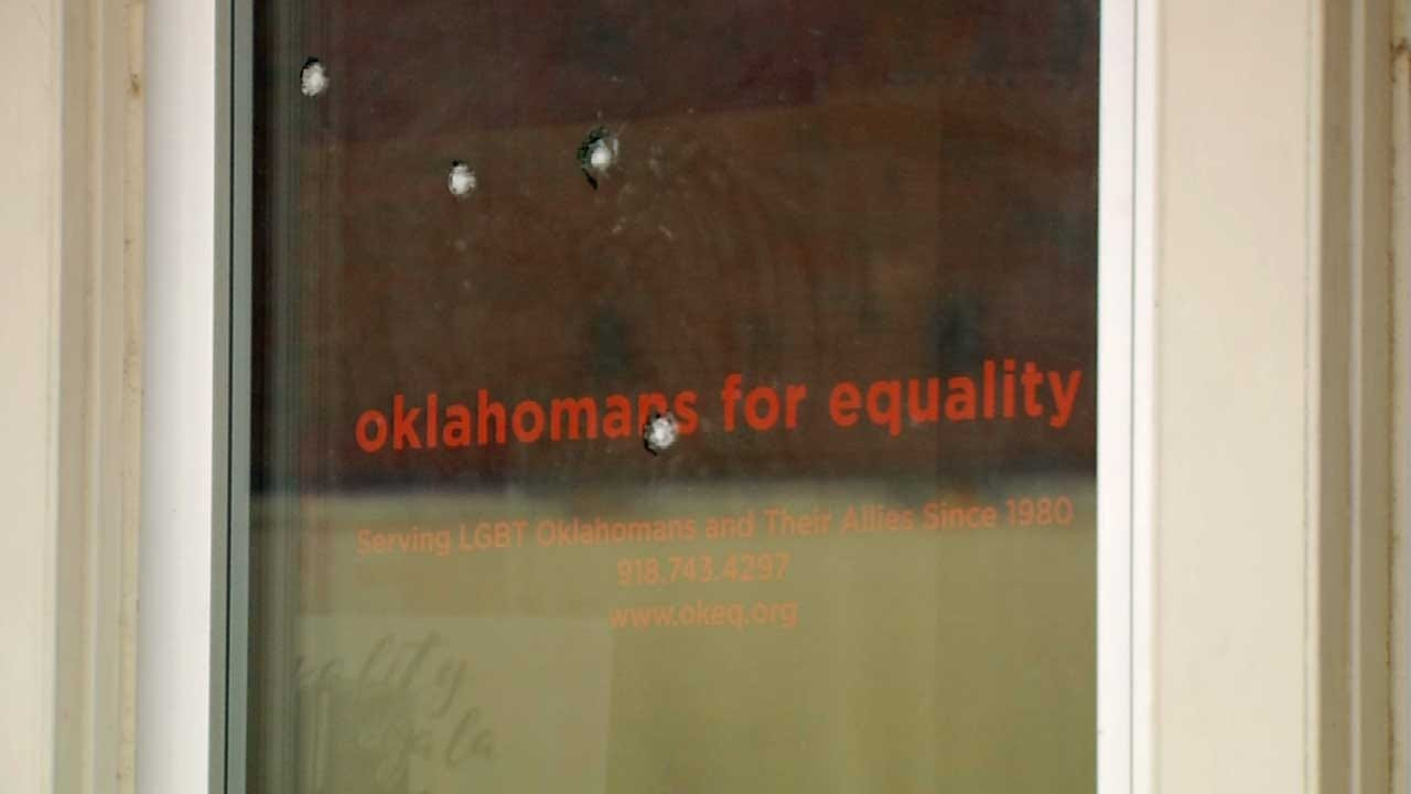 Tulsa Equality Center Vandalism Sparks Gift Of Love From Artist