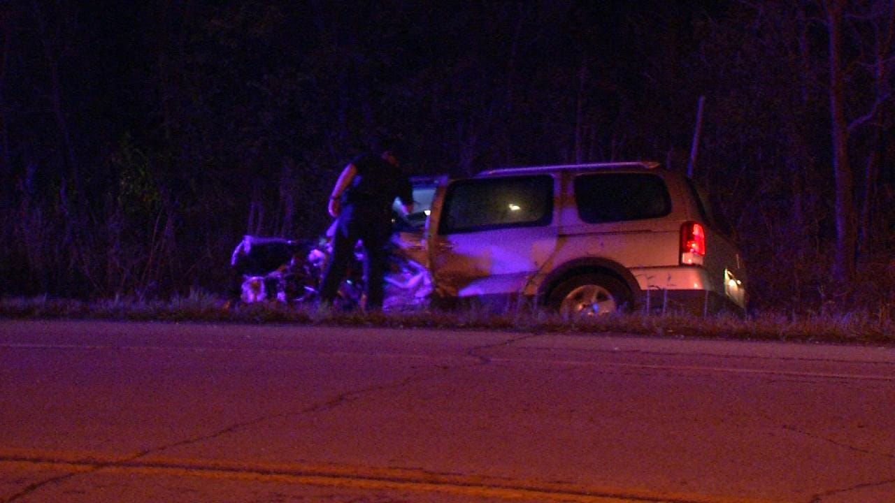 Woman Killed In Sperry Highway Crash
