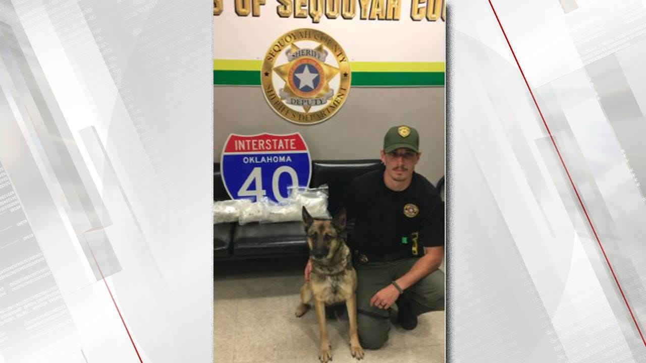 Almost 7 Pounds Of Meth Found In I-40 Traffic Stop Near Sallisaw