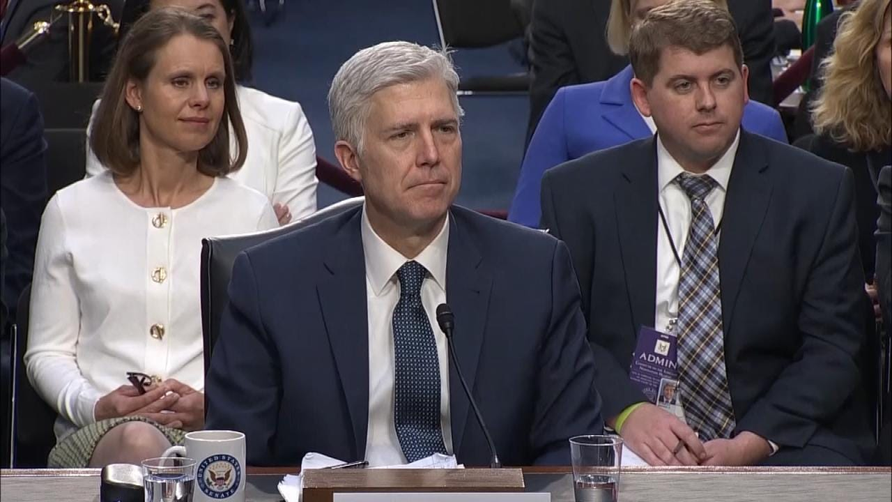 Trump's Supreme Court Nominee Neil Gorsuch Confirmed