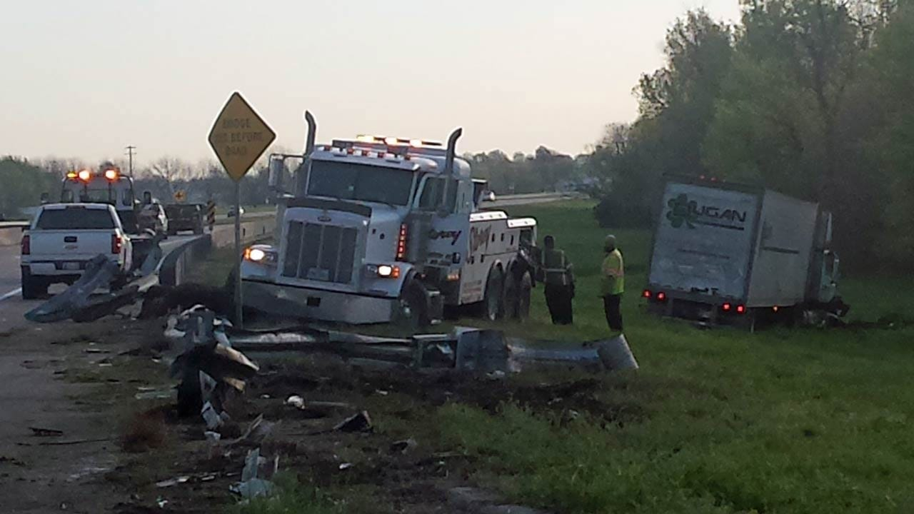 Cow Blamed For Injury Wreck On Highway 169 Near Oologah