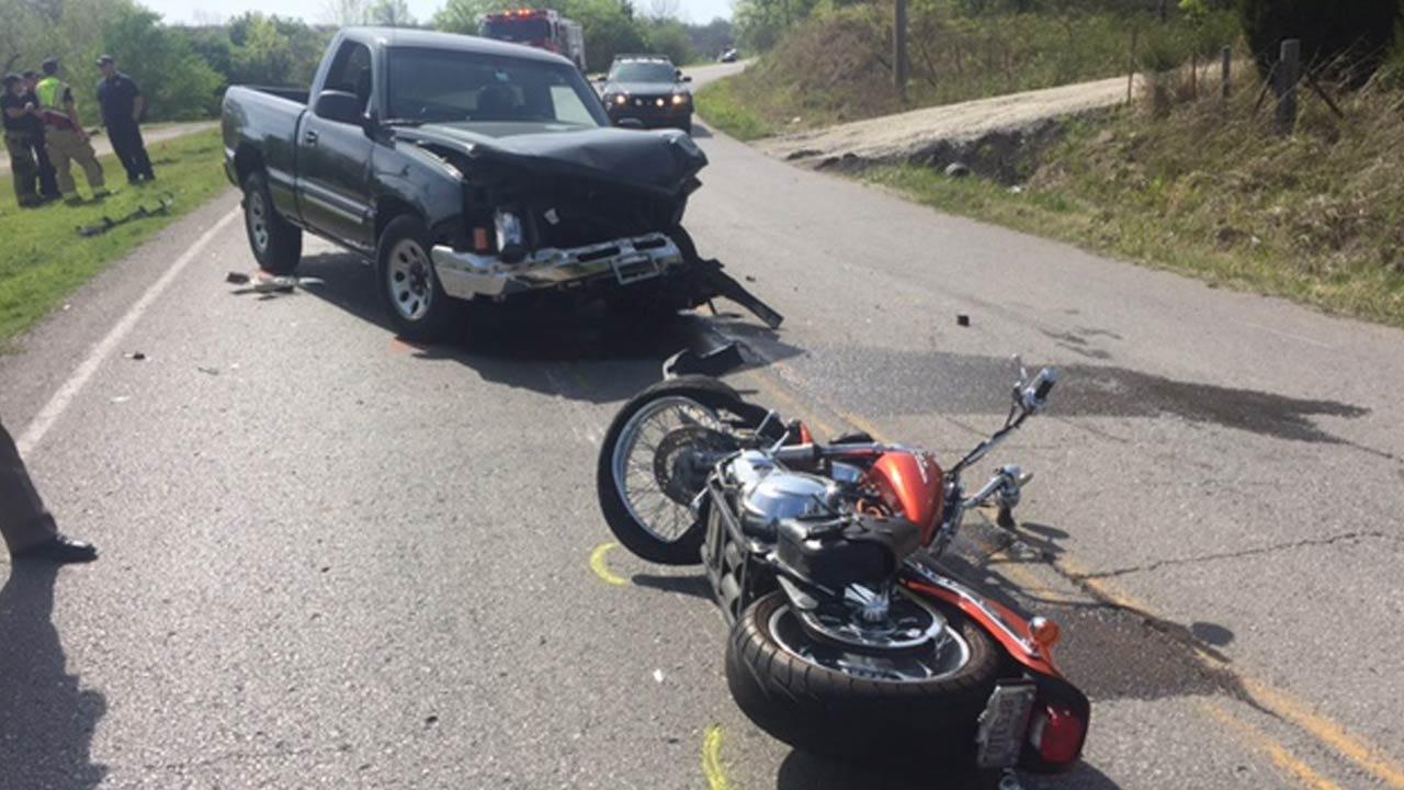 Motorcyclist Dies In Crash Near West 51st Street