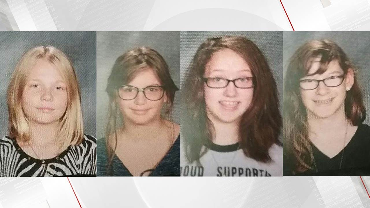 Pittsburg County Authorities Locate Four Missing Teens