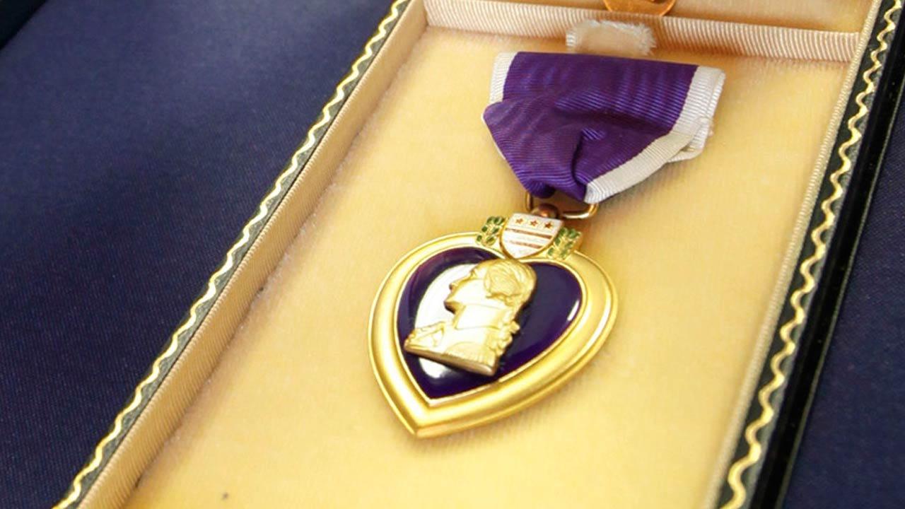 Purple Heart Society Returns Medal To WWII Veteran's Family