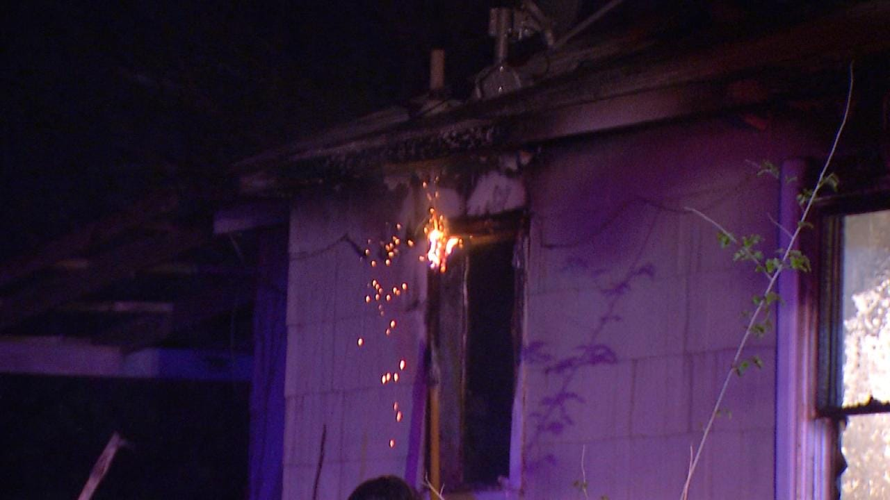 Vacant Tulsa Home Damaged In Fire