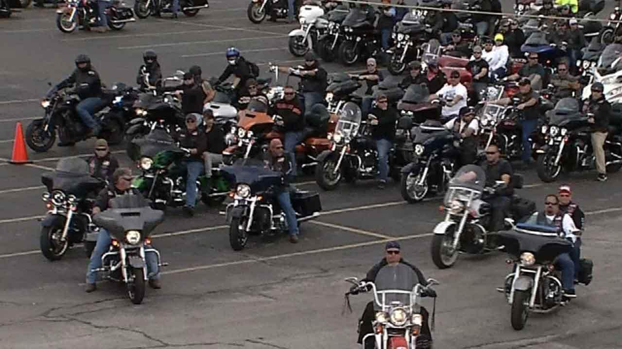 Bikers Raise Funds To Honor Fallen Tecumseh Officer