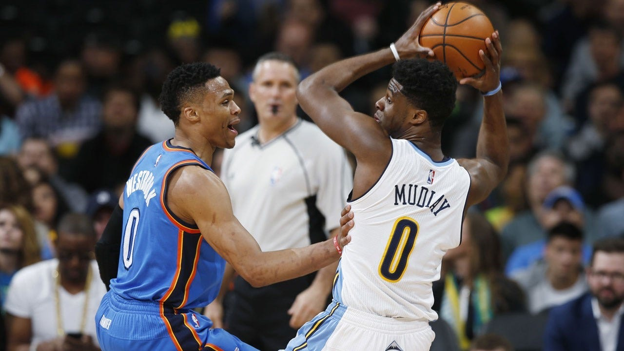 Thunder In Denver As Westbrook Looks To Pass Robertson