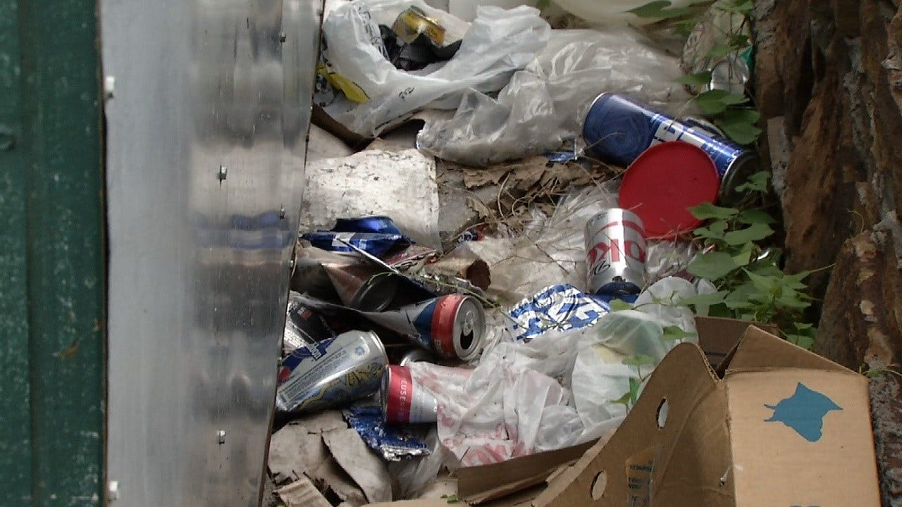 City Of Tulsa To Investigate Business Owner's Trash Complaints