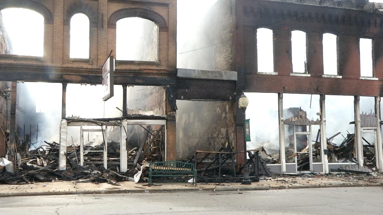 Investigators Seek New Leads In Wagoner Fire
