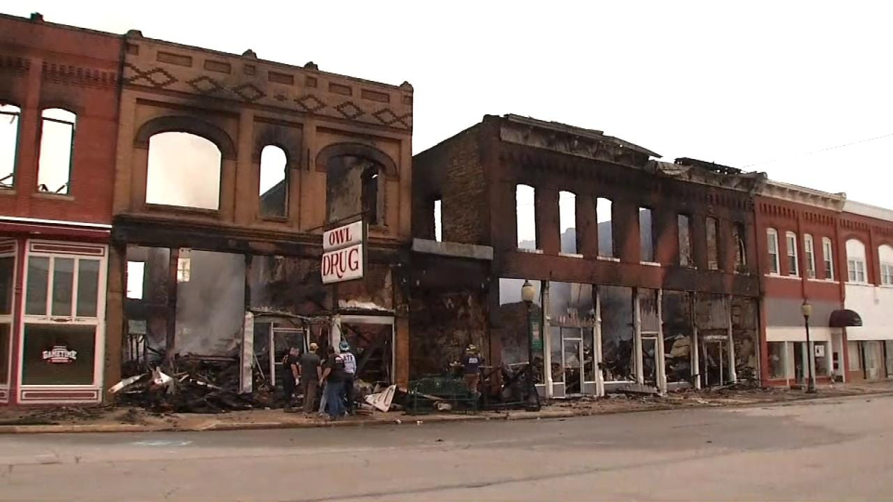 Residents Hope Downtown Wagoner Will Bounce Back After Fire