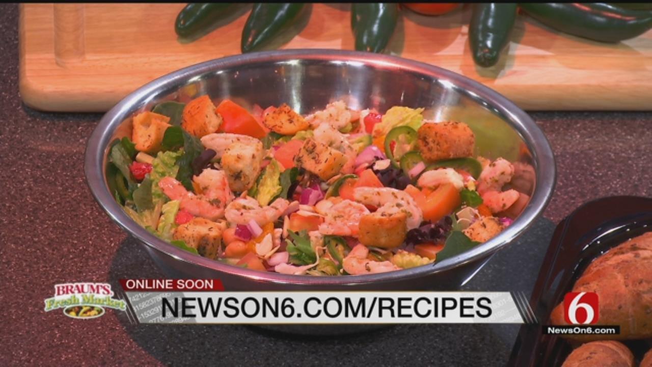 Salata Salad With Fresh Jalapenos