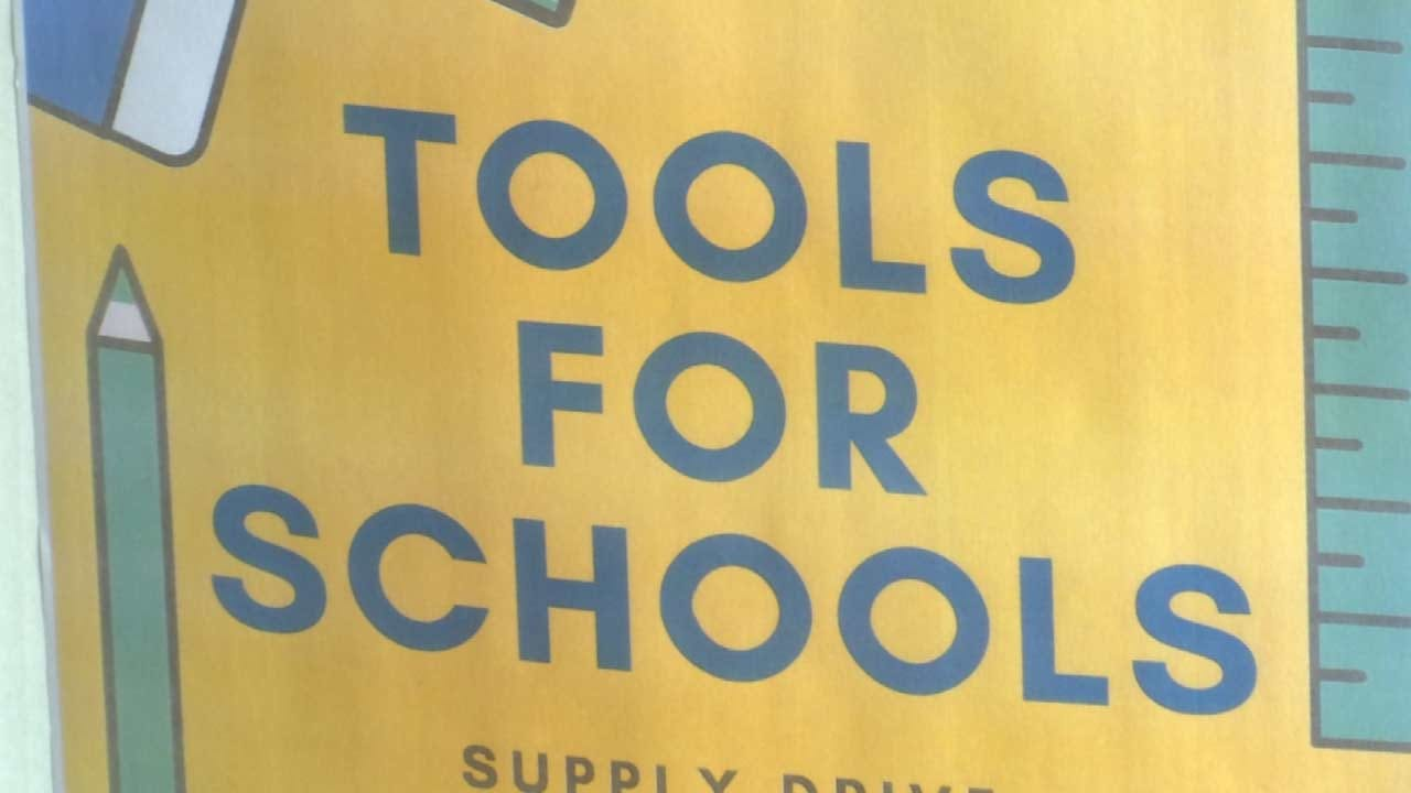 Tulsa Launches 'Tools For Schools' Supply Drive