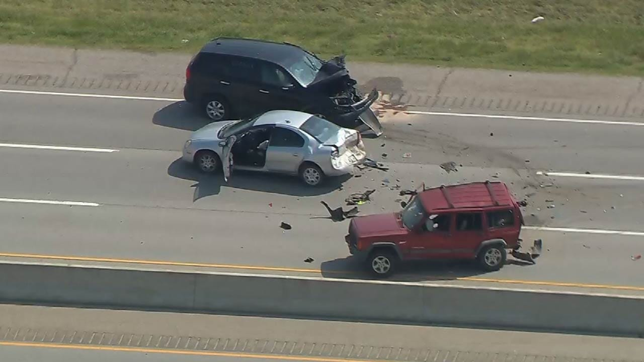 One Critical, Three Others Injured After Broken Arrow Crash