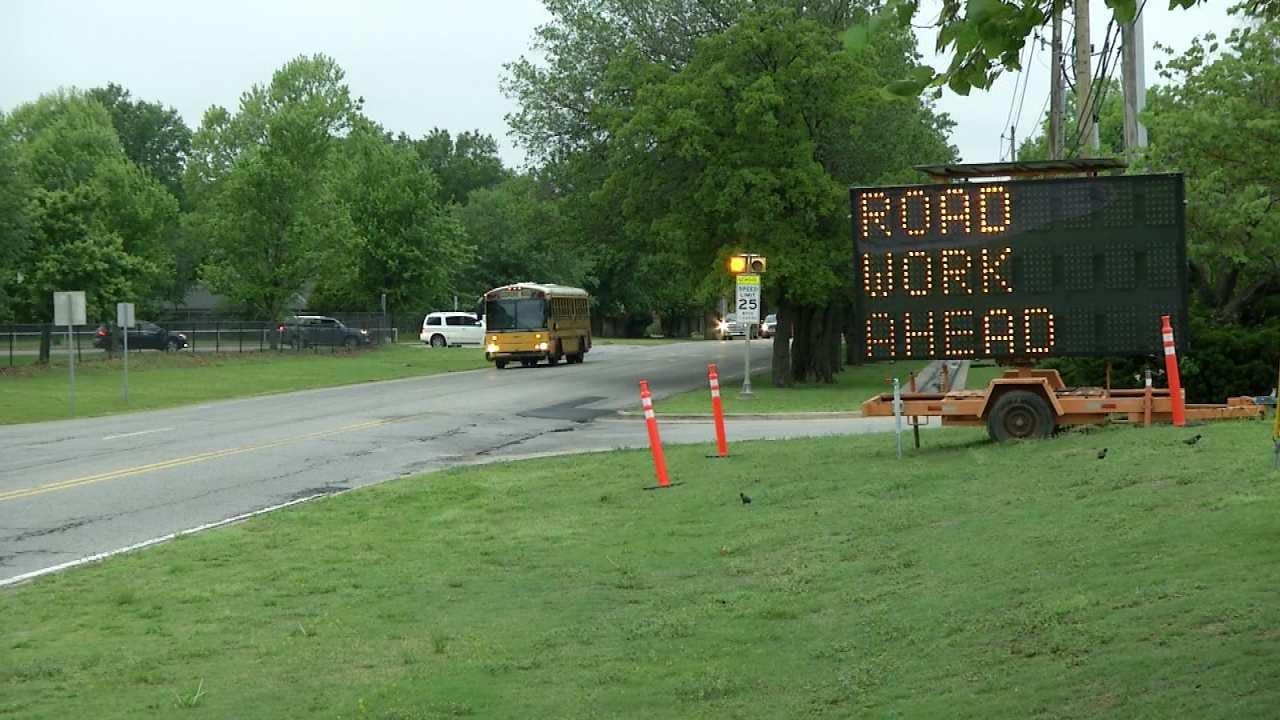 Road Project Near Jenks Middle School Hits Snag