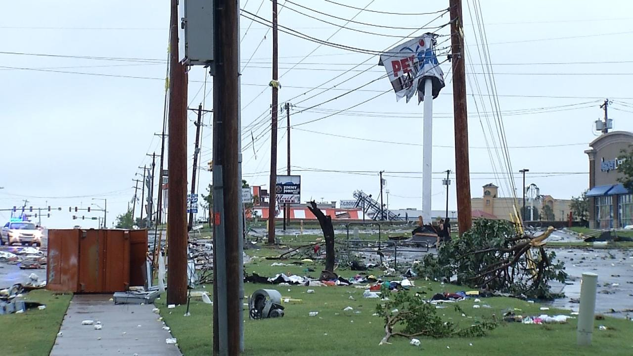 Some Tulsa Businesses Damaged By The Tornado Have Reopened