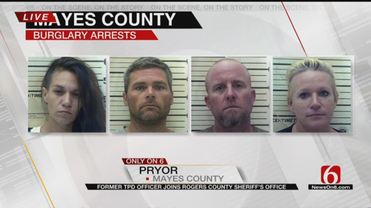 Tons Of Stolen Property Recovered From Multiple Oklahoma Counties
