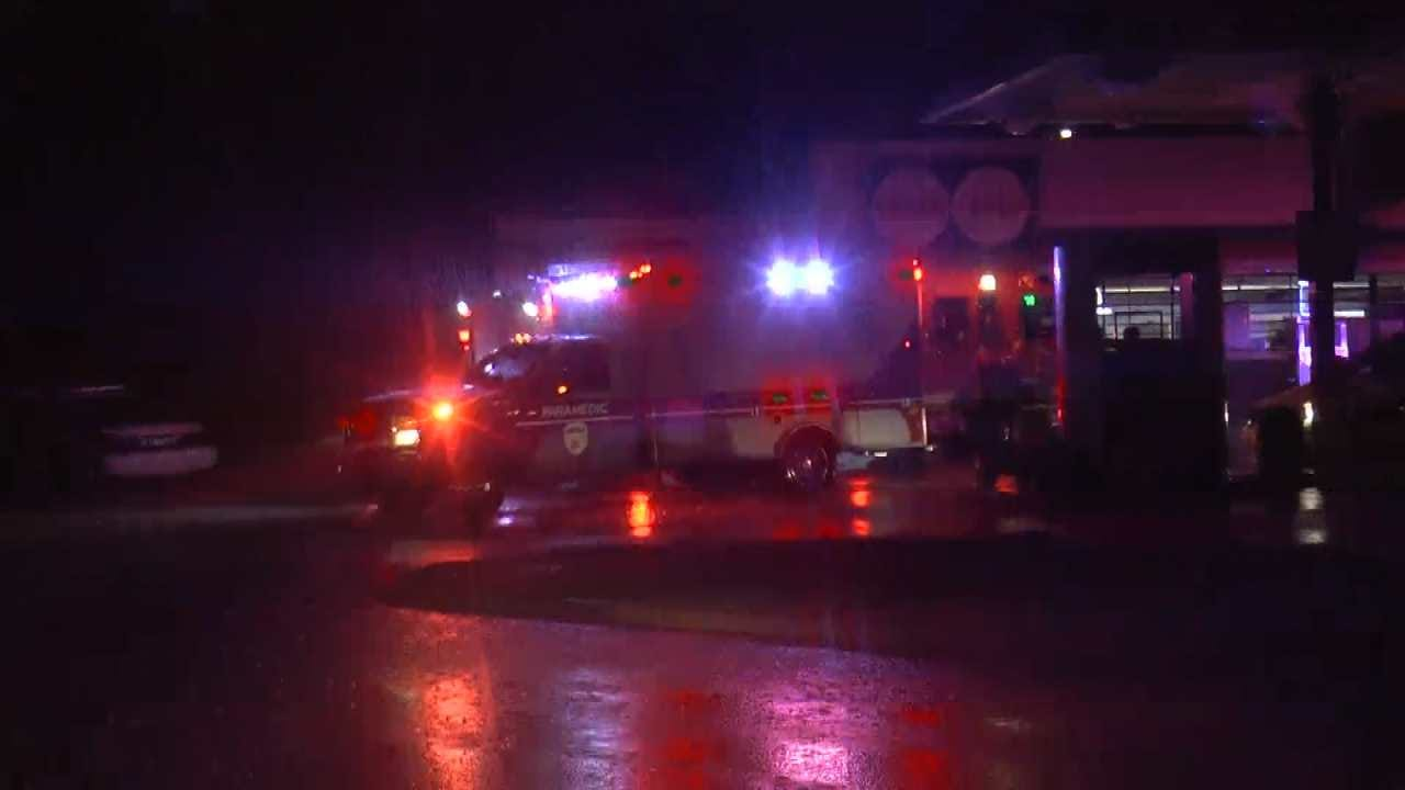Tulsa Man Shot In Face While Walking With Little Brother
