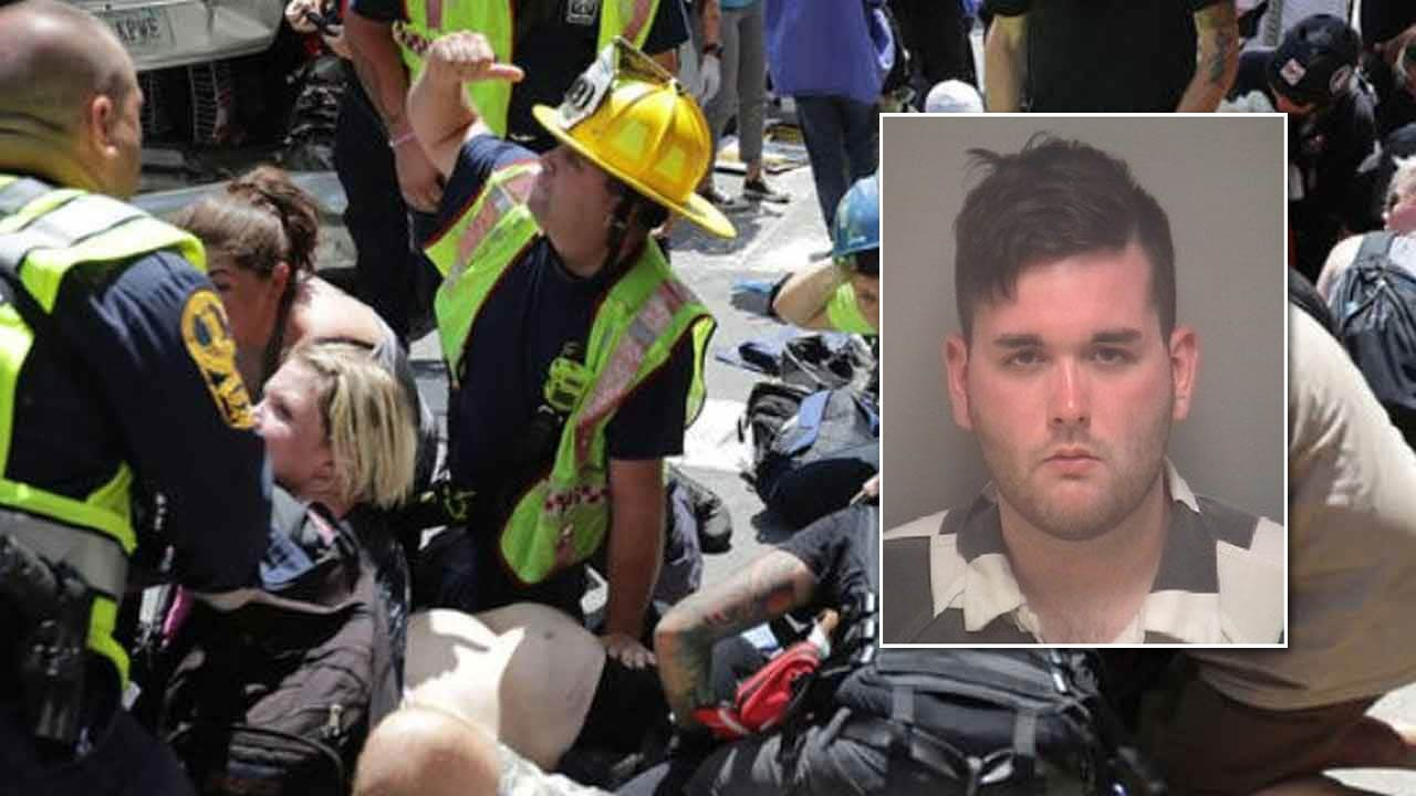 Car Plows Into Protesters In Charlottesville; Driver Arrested