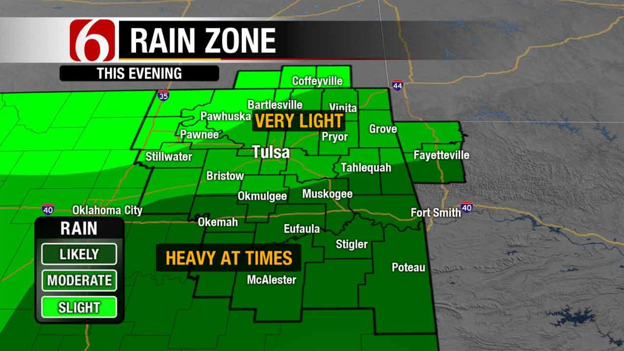 Soggy Weekend Should Dry Up By Midday Sunday