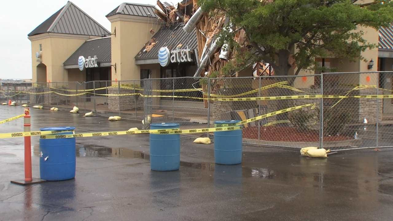 Tulsa Store Owners Relieved By Tornado Clean-Up Progress