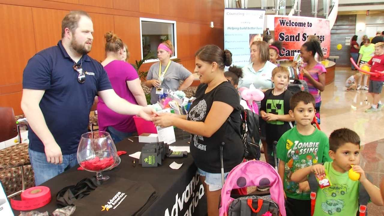 Sand Springs Families Benefit From Back To School Bash