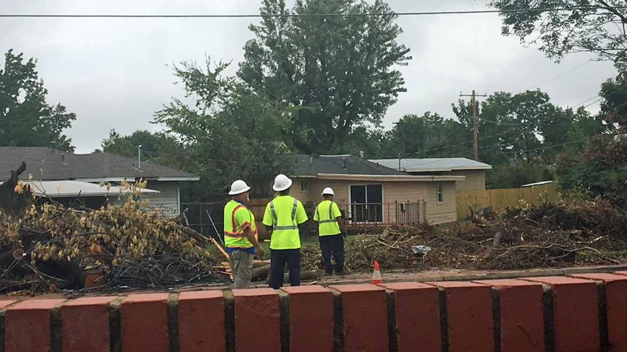 Green Waste Pickup Starts In Tornado-Damaged Tulsa
