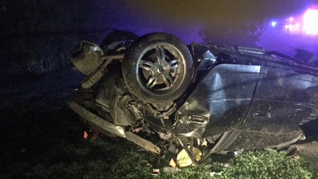 Driver Dies In Police Chase In Okmulgee County
