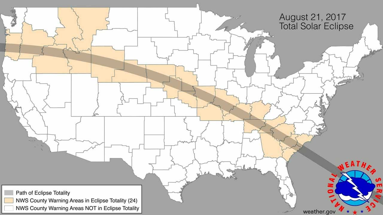 Eclipse Watch Parties Planned For Monday, August 21