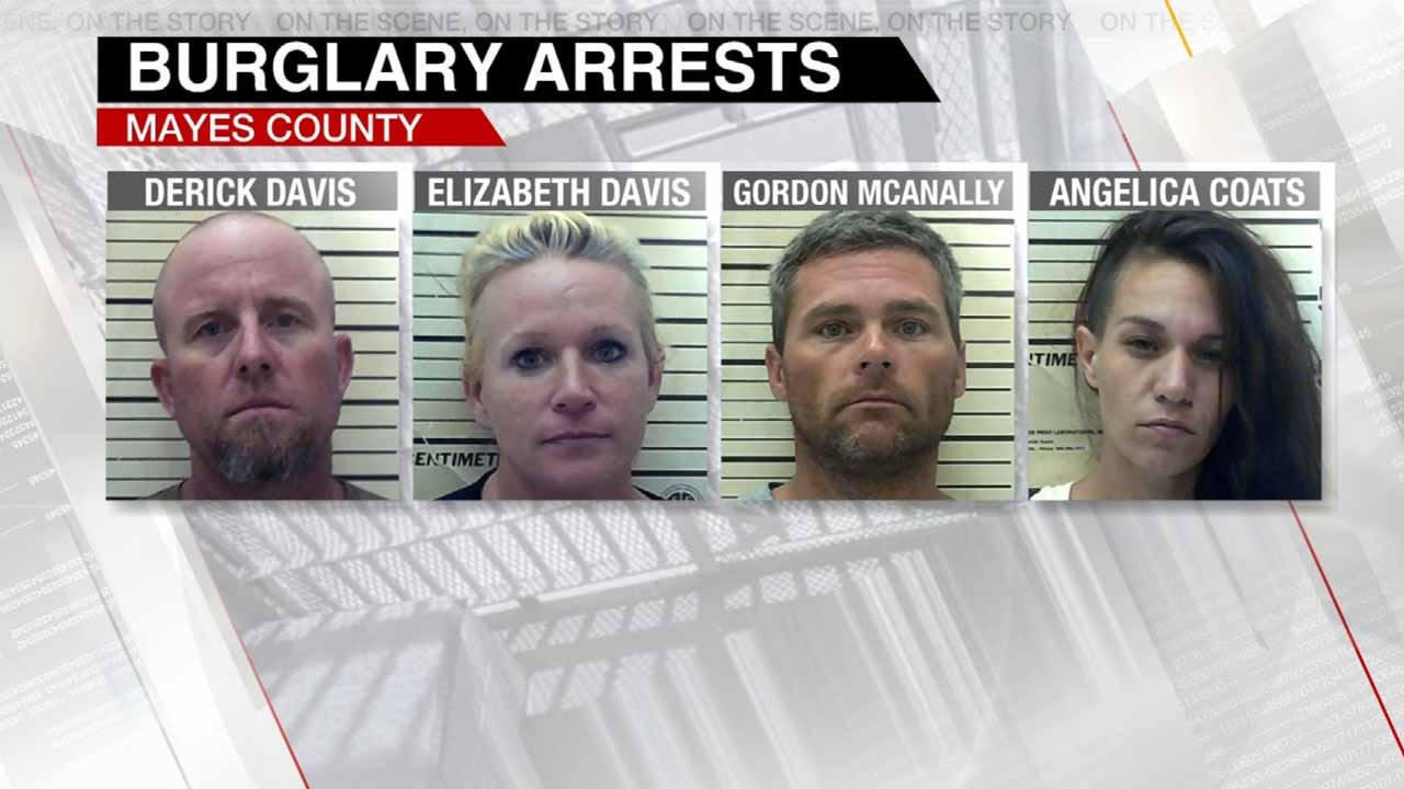 More Arrests Made In Multi-County Burglary Ring