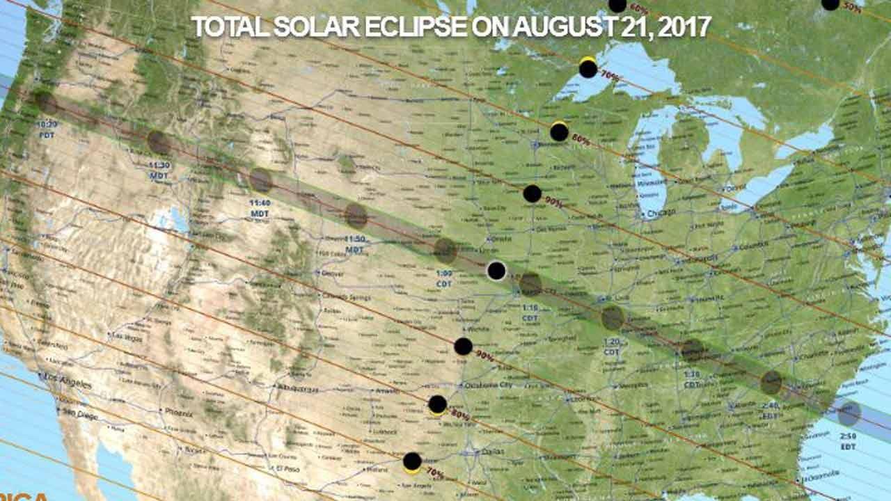 NASA To Live Stream Total Solar Eclipse