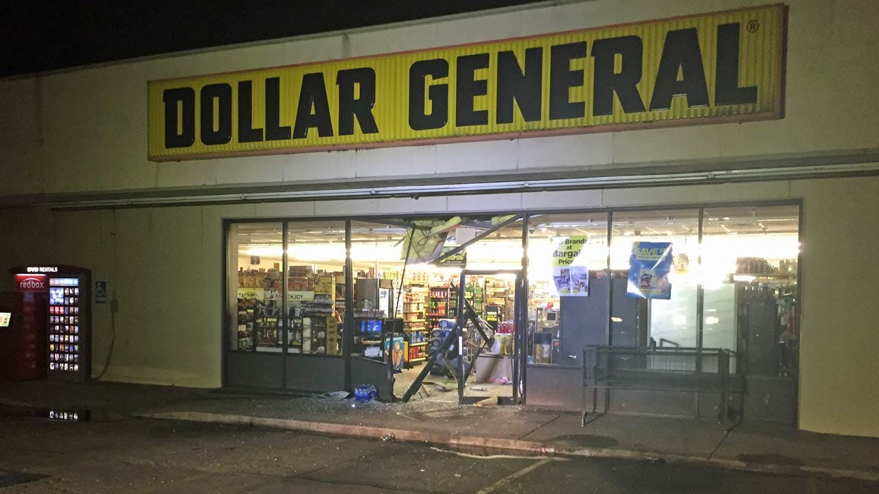 Police: Thieves Use Truck To Burglarize Tulsa Dollar General Store
