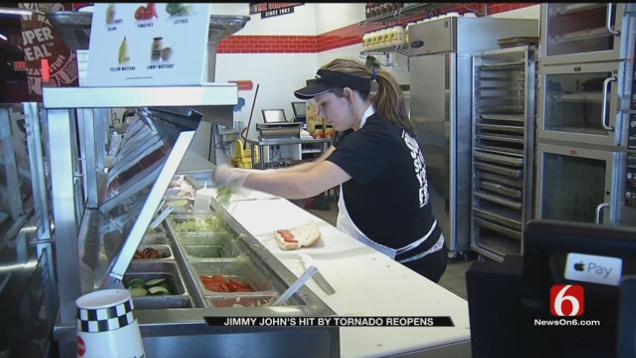 Tulsa Jimmy John's Back Open, Hiring After Tornado Damage