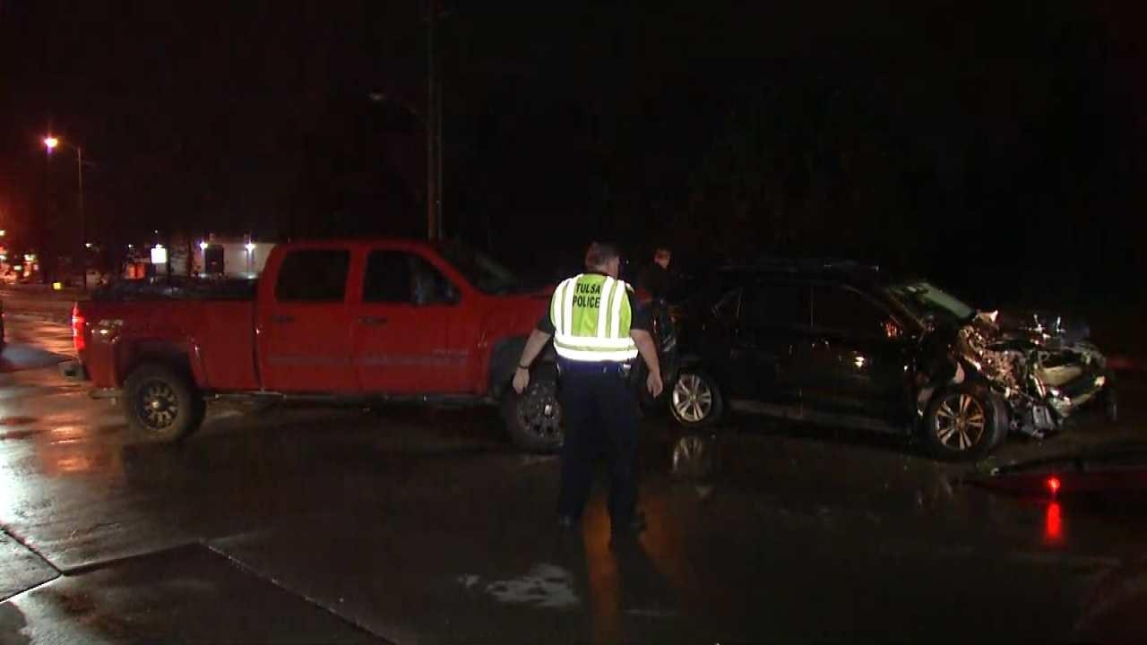 Tulsa's Memorial Drive Back Open After Crash